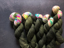Load image into Gallery viewer, Neon Camo - BFL Nylon - 4ply