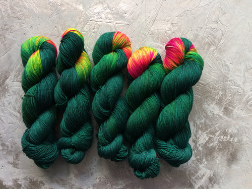 Frida Kahlo - BFL Nylon - 4ply