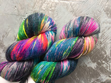 Load image into Gallery viewer, Dark side Ziggy - BFL Bamboo - 4ply