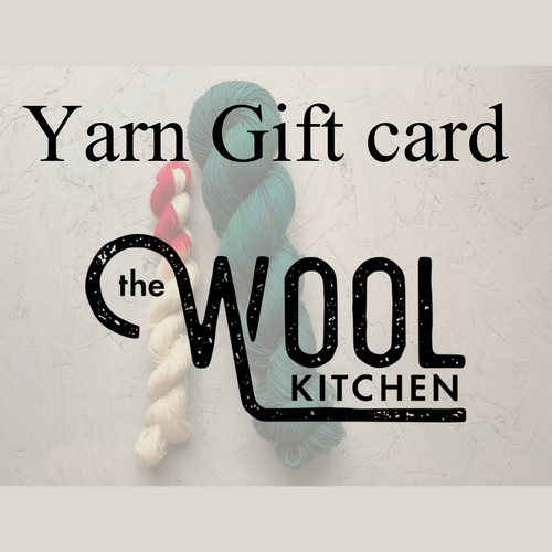 Yarn gift card The Wool Kitchen