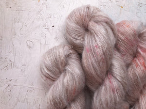 Avocado Dreaming - Mohair Silk - Lace