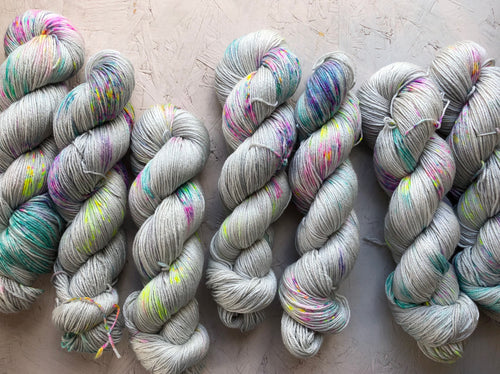 Iridium - Merino Silk - 4ply