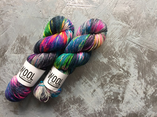 Dark side Ziggy - BFL Bamboo - 4ply