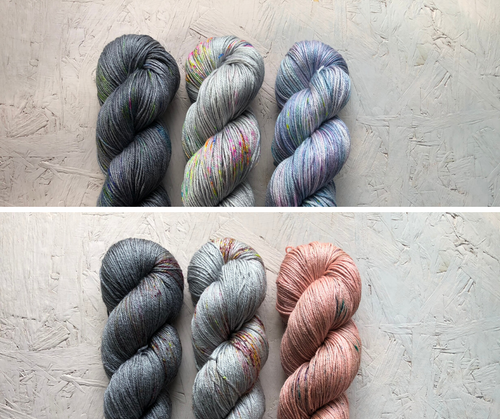 Stillness MKAL kits- Merino Silk - 4ply
