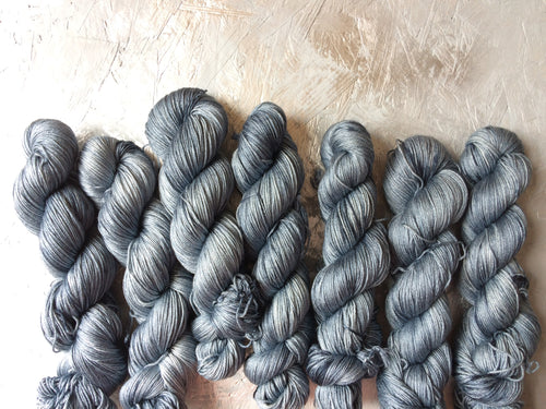 Worn Denim - Merino Silk - 4ply