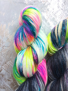 Dark Side of Ziggy - BFL Nylon - 4ply