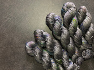 Dancing in the dark! - Merino Silk - 4ply