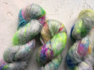 Moon hopping - Mohair Silk - Lace