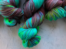 Load image into Gallery viewer, Malachite  - Merino sock 4ply