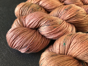 Rose Gold - Merino Silk - 4ply