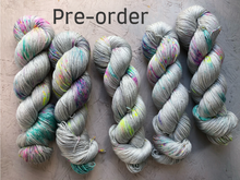 Load image into Gallery viewer, Iridium Pre-order  - Merino Silk - Sock 4ply - DK