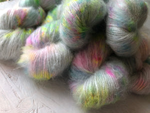 Iridium - Mohair Silk - Lace