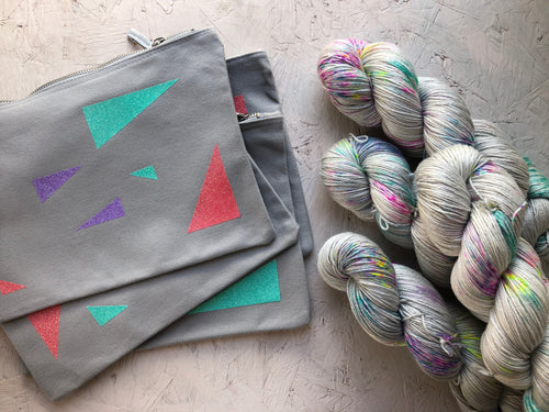 Iridium bag set - Merino Silk - 4ply