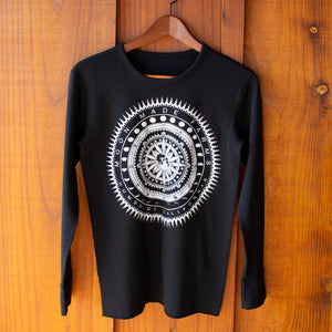 Longsleeve Glow-in-the-Dark Mandala