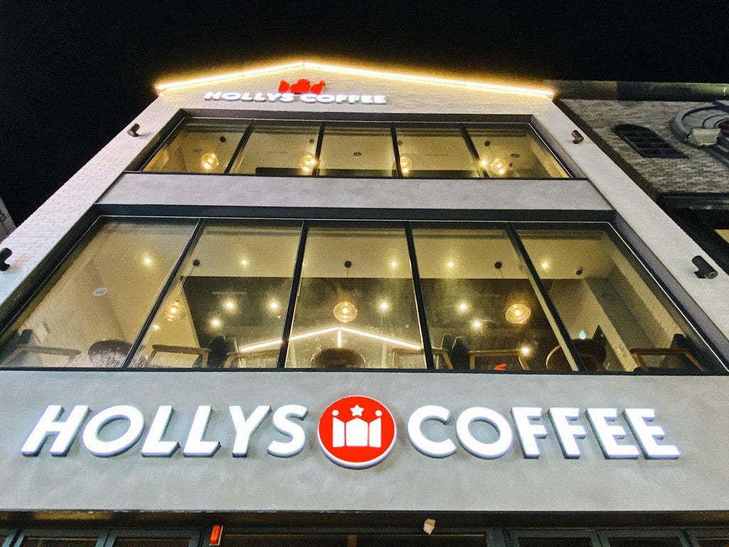 HOLLYS Coffee South Korea