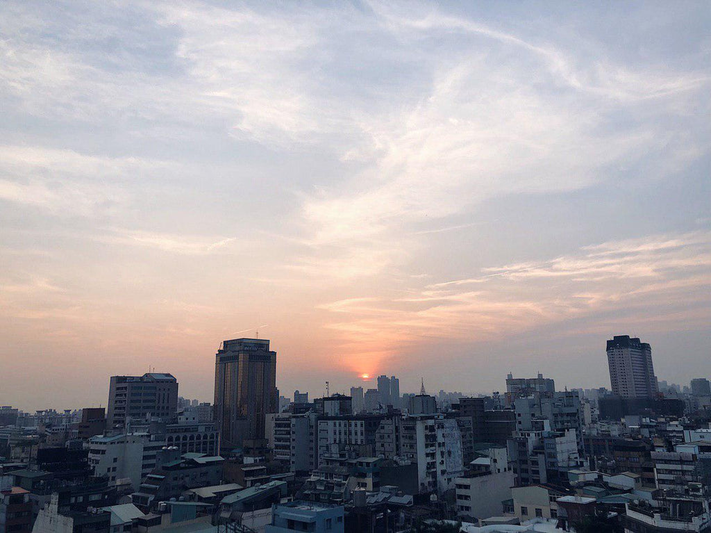 Sunset from Qianyue Building