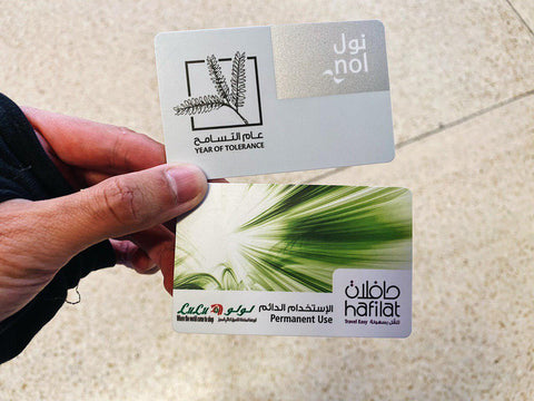 nol and hafilat bus card