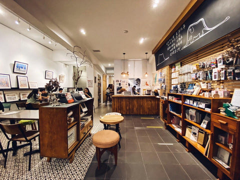 Glassroots Book Room Cafe