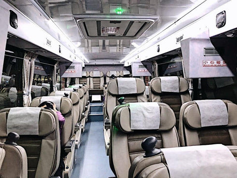 Taiwan Kuo Kuang King Bus Interior