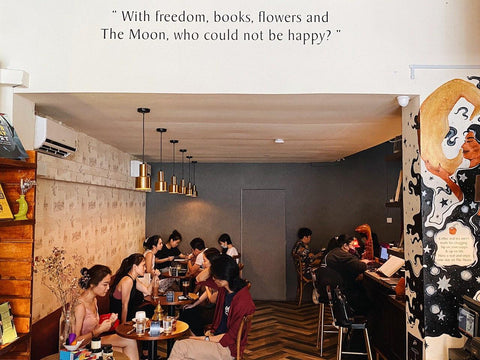 The Moon Bookstore and Cafe