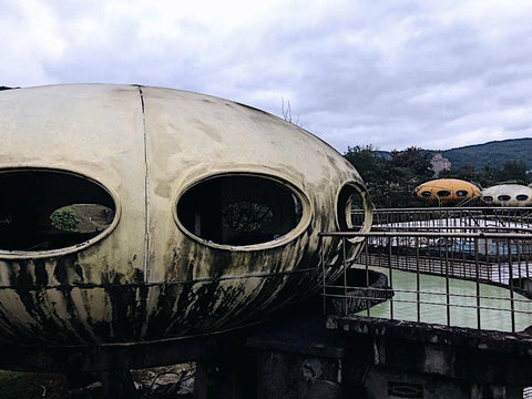 Wanli UFO Village Futuro House