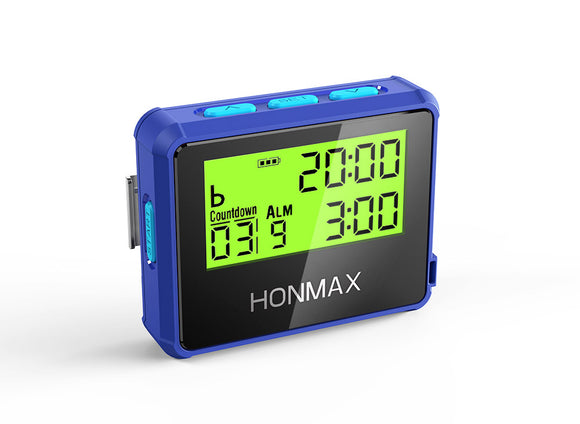 HONMAX 8200 Water Resist Programmable Interval Timer Stopwatch