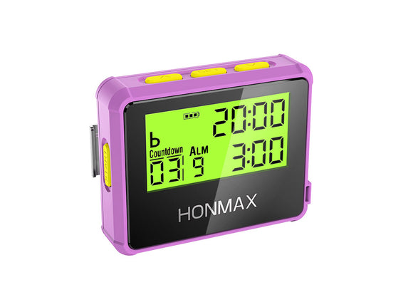HONMAX 8200 IP66 Programmable Interval Timer Stopwatch-Rose