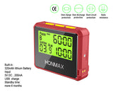 HONMAX 8200 IP66 Programmable Interval Timer Stopwatch-Red