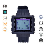 honmax 30 Different Intervals Water Resist Interval Watch - 3D Pedometer-BLK/Violet
