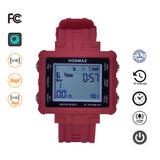 honmax 30 Different Intervals Water Resist Interval Watch - 3D Pedometer-RED/Gray
