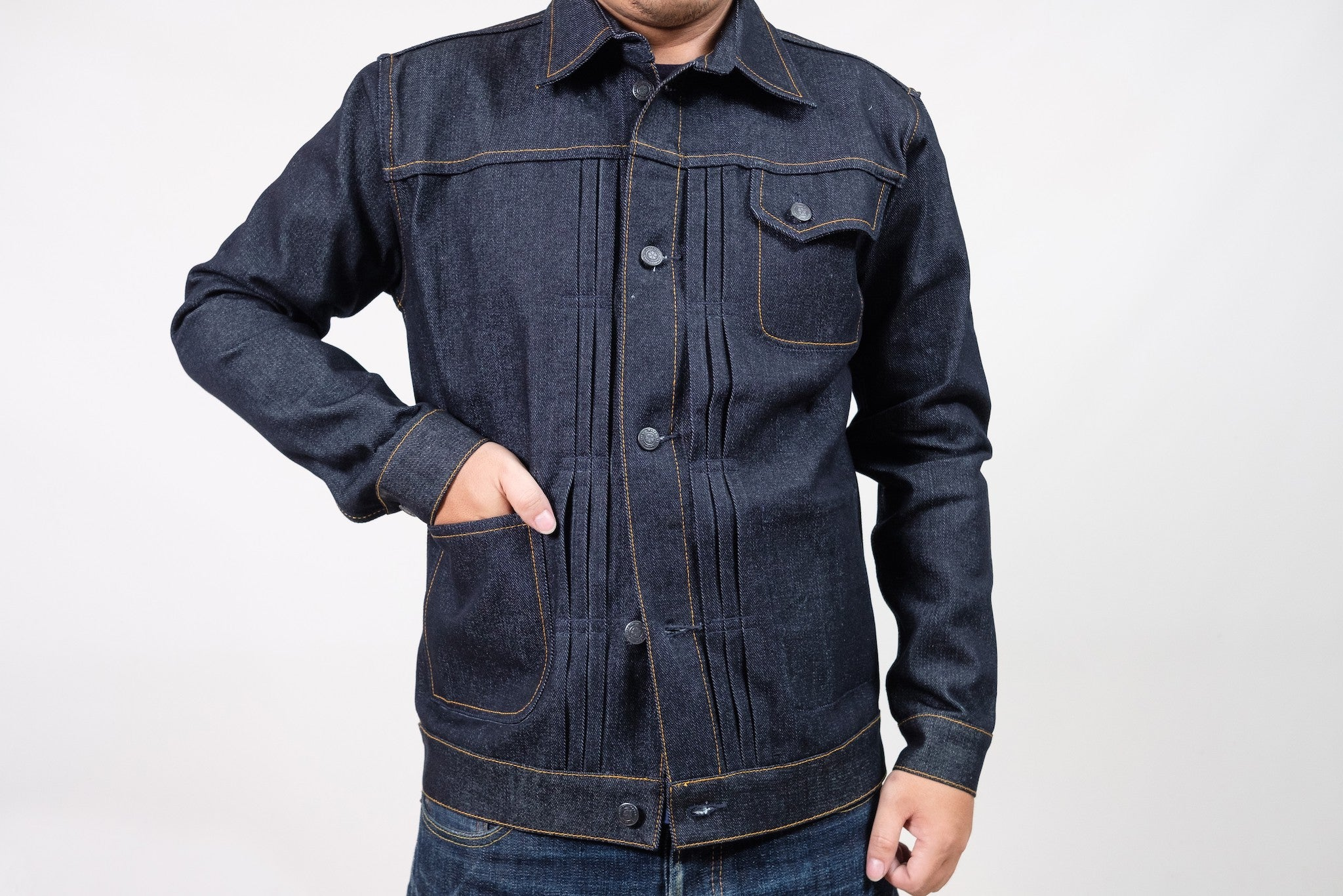 JACKET N°1 - DEEP INDIGO