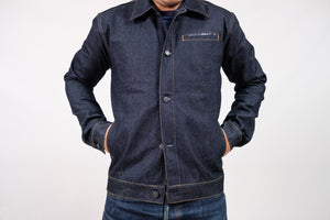 JACKET N°2 - DEEP INDIGO