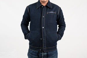 JACKET N°2 - INDIGO/BLACK