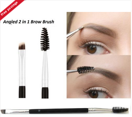 Anastasia Beverly Hills Eyebrow and Eyeliner Shaping Duo Makeup #12 Brush  Angled - Makeup