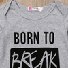 <B046>BORN TO BREAK HEARTS ロンパース