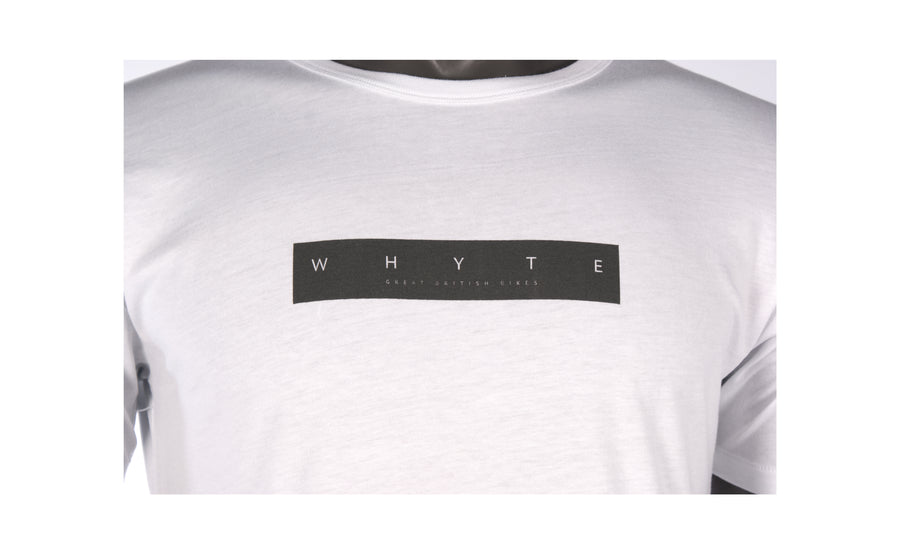T-SHIRT WHITE BOX LOGO