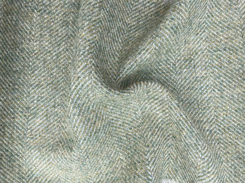 Wool Herringbone - Fluffy Grass