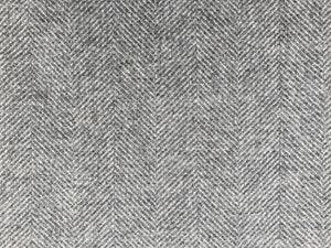 Wool Herringbone - Elephant Grey