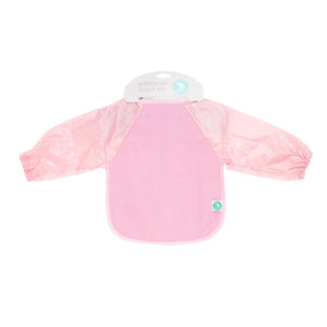 Long Sleeve Bib - Star Pink