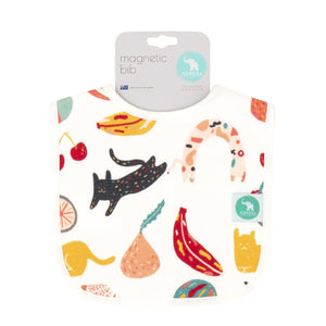 NEW - Magnetic Bib - Cat