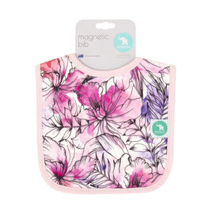 NEW - Magnetic Bib - Floral