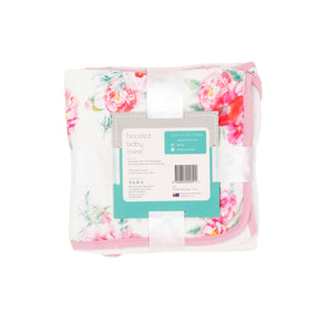 Hooded Towel - Floral