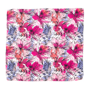 Bamboo Cotton Cot Sheet  - Floral