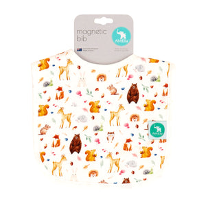 NEW - Magnetic Bib - Forest Animals
