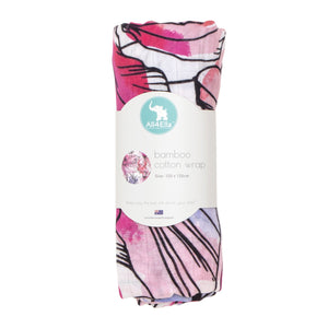 Bamboo Cotton Wrap - Floral