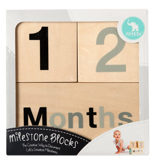 Milestone Blocks Black & Grey