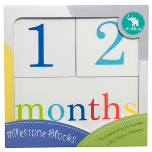 Milestone Blocks Neutral (White)