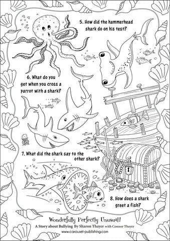 Shark Riddles page 2