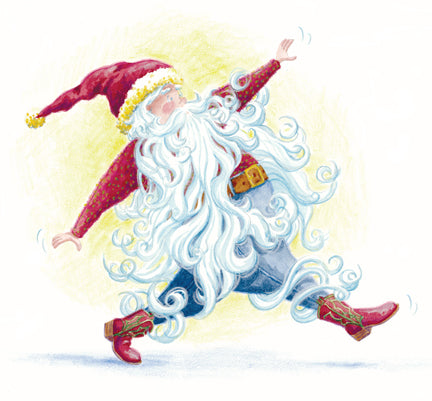The Myth of Santa's Beard, Santa, Sharon Thayer, Christmas children's book