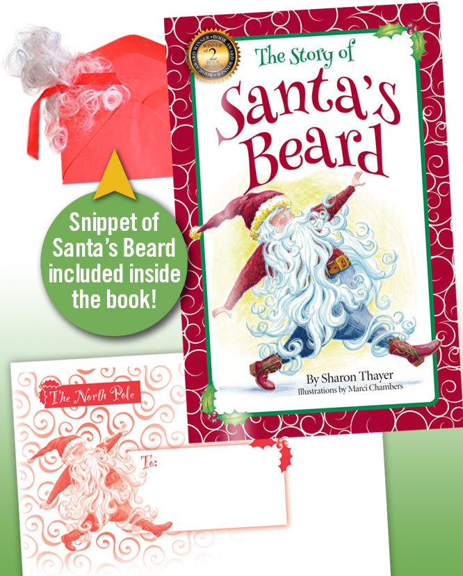 """The Story of Santa's Beard"" Softcover: Quantity prices for parties & events: (24 books)"